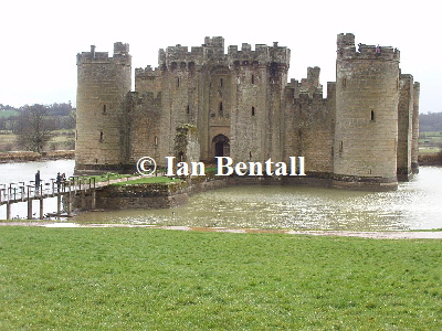 Traditional Bodiam Castle
