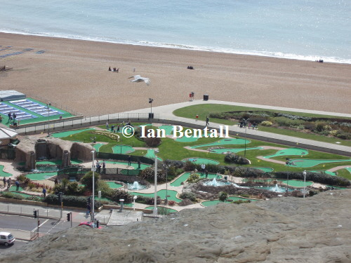 Hastings seafront crazy golf